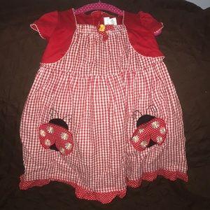 Girls Toddler Ladybug summer dress